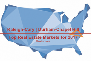 The Triangle Makes Top 10 Real Estate Markets in US.